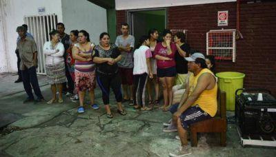 Quedan 53 vecinos evacuados en la ciudad de Córdoba