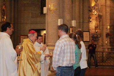Monseñor Marino presidió la misa de la 110º dedicación de la Catedral