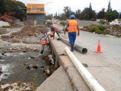 Se realiz� una nueva traza: repararon colector cloacal en San Salvador de Jujuy
