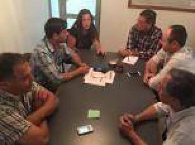El Frente Renovador de La Plata acordó una agenda de trabajo junto al Consejo Escolar de la ciudad