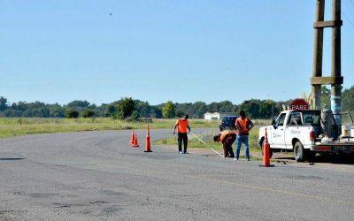 Colocan se�alizaci�n vial en autopista Fortabat y Ruta 51