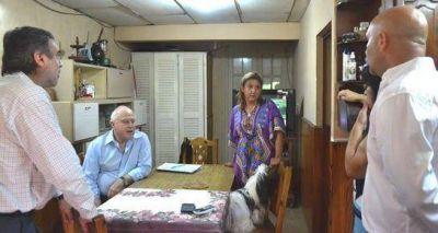 Lifschitz y Qüesta visitaron a una paciente afectada por dengue