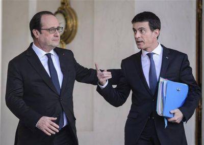 Hollande hace una amplia reforma del gabinete antes de su viaje a la Argentina