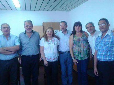 El Gobierno recibió a representantes del SIEP