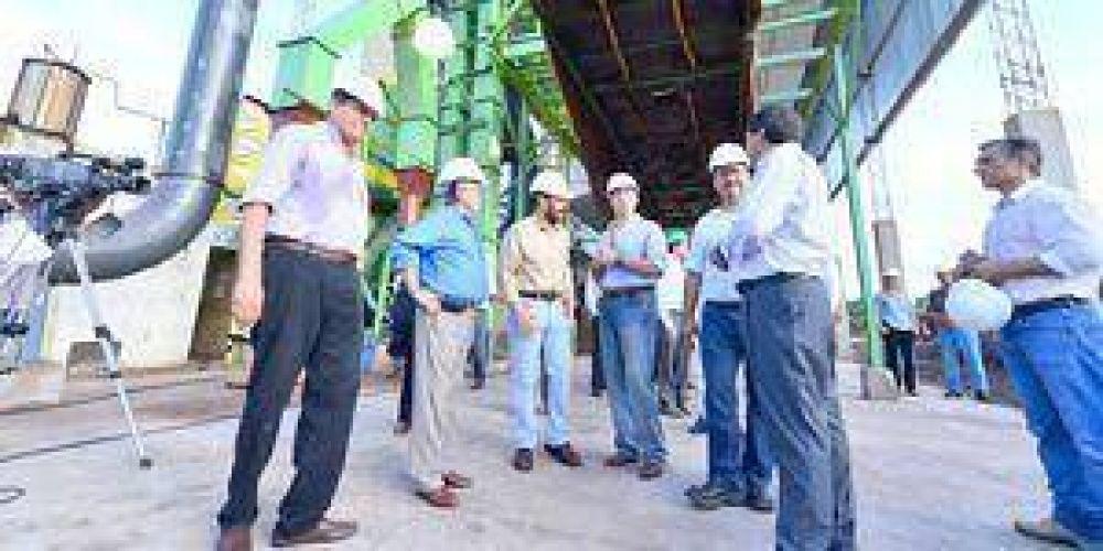 Unitan inauguró la primera planta de biomasa de Formosa