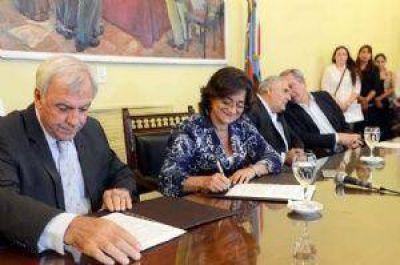 Corpacci admitió el retraso en el envío de los fondos nacionales