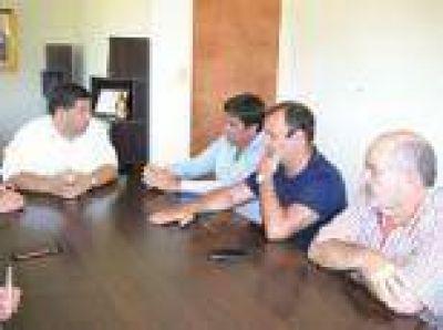 Berisso: Nedela recibió al vicepresidente de la Cámara de Diputados y a legisladores provinciales