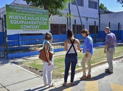 San Fernando refacciona la Escuela Nro 14