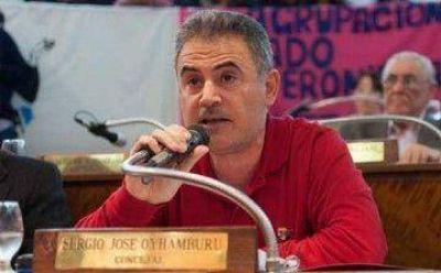 """Sergio Oyhamburú: """"¿Qué le vas a pedir a Ferraresi, que piense?"""""""