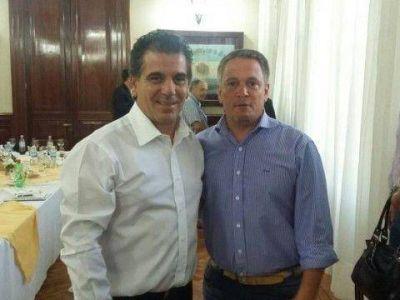 San Cayetano: Marlats comparti� un almuerzo con el ministro de Seguridad
