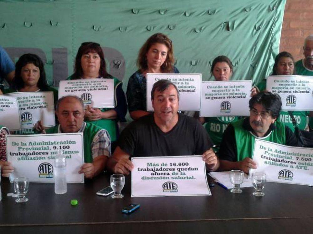 ATE realiza 7 bloqueos de ruta en Río Negro el 24 de febrero