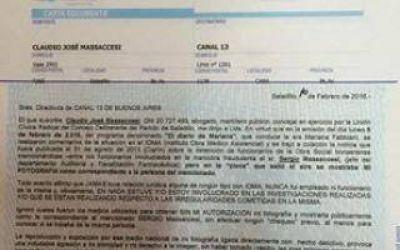 Saladillo: Concejal envió Carta Documento a Canal 13