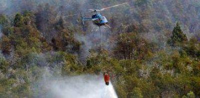 Preocupaci�n por incendios en la zona sur
