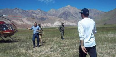 Macri saludar� a la traves�a desde Barreal, con un anuncio minero