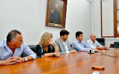 Funcionarios provinciales visitaron Olavarría