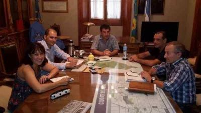 Se realizó una reunión de Defensa Civil
