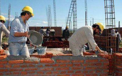La construcción tiene 3300 obreros registrados en la provincia