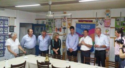 Diputados de cambiemos visitaron Alvear y junto a Cellillo, recorrieron Rotary y el Hospital Municipal