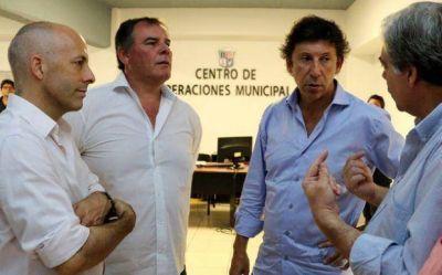 Video: Ducot� y Posse en Pilar, con la lupa en la seguridad