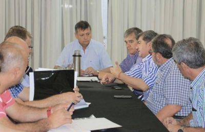 Peppo y Nievas analizaron el plan de obras para Castelli