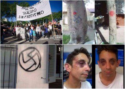 """Tras un nuevo ataque de patota neonazi, piden la """"urgente"""" intervención de Arroyo"""
