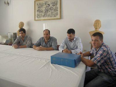 Olivera agradeció la presencia de las autoridades bonaerenses en Tordillo