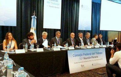 Salta participa del primer plenario del año del Consejo Federal del Trabajo