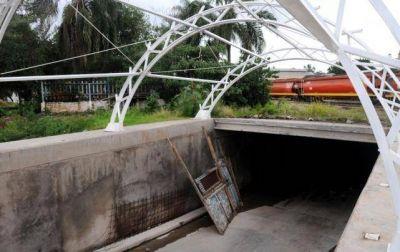 La obra de los túneles y los puentes estará paralizada al menos hasta abril