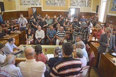 Los concejales expresaron su solidaridad y pidieron un mayor compromiso de la Justicia