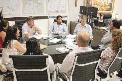 Peppo planificó junto a Sandoval la continuidad de obras para El Espinillo