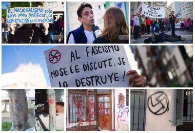 El mapa neonazi marplatense: seis años de ataques con sus responsables identificados