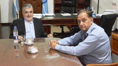 Das Neves y Linares consensuaron la conclusión de obras en la ciudad