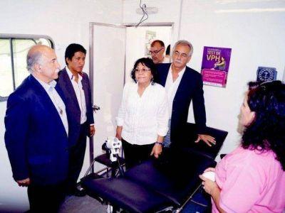 Comienza a recorrer la provincia el Móvil Sanitario de la Mujer
