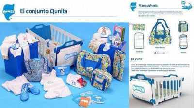 Suspendieron la entrega de kits Qunita porque no son seguros para los bebés