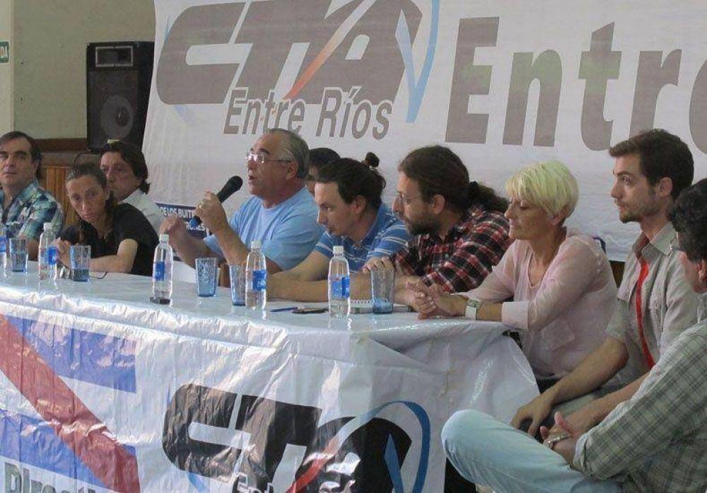 CTA Ente Ríos llamó a una movilización el miércoles 24