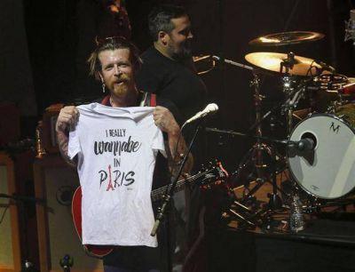 Y el show continuó en París: volvió a tocar la banda que sufrió en el Bataclan