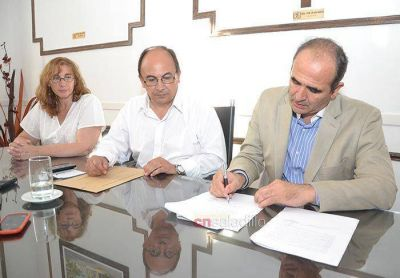 La Municipalidad firmó un contrato con la UNLP