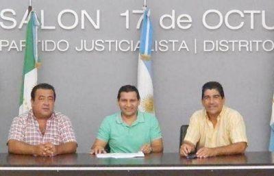 Ex presidentes del PJ local apoyan a Peppo como candidato