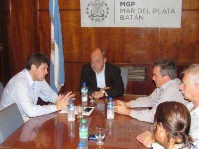 Castello se reunió con Arroyo por la reforma de la Seguridad