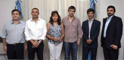 Altolaguirre recibió a delegación del Ministerio de Trabajo