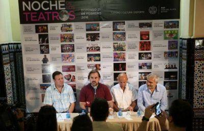 La noche de los Teatros por primera vez en Mar del Plata
