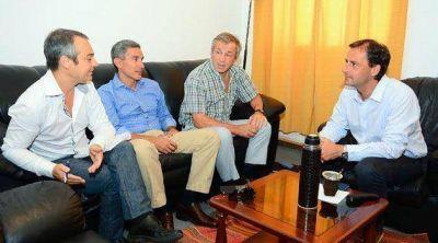 La UIDE se reunió con el Intendente y acordaron una variada agenda de trabajo