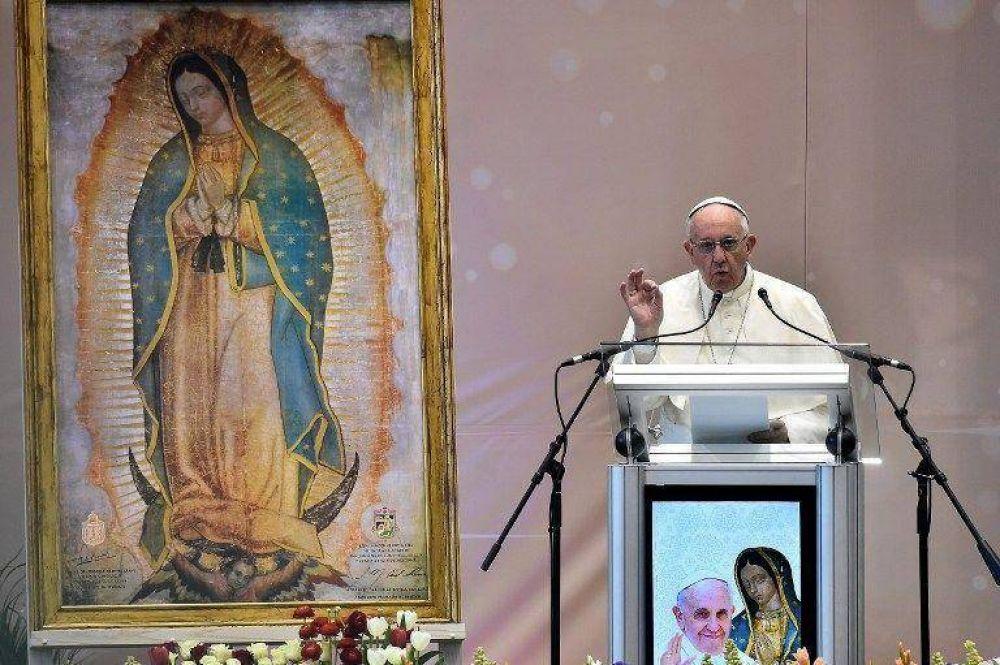 Para el papa la inseguridad, no se resuelve