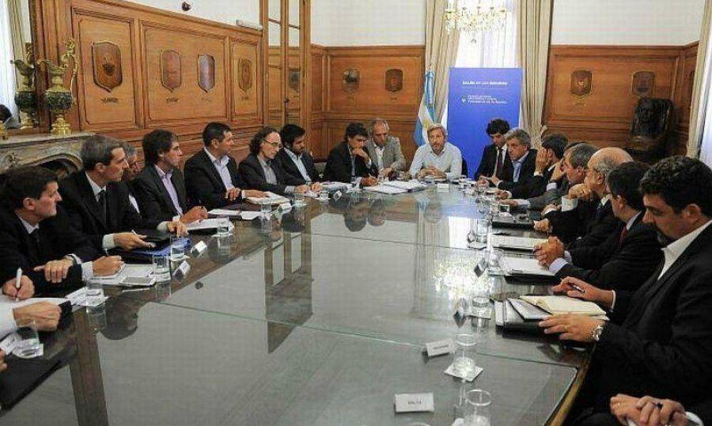 Coparticipación: Ibáñez estuvo en la reunión con Rogelio Frigerio