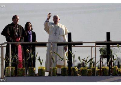 """""""México es una sorpresa y no se entiende sin la Virgen de Guadalupe"""", el Papa al finalizar su Viaje"""