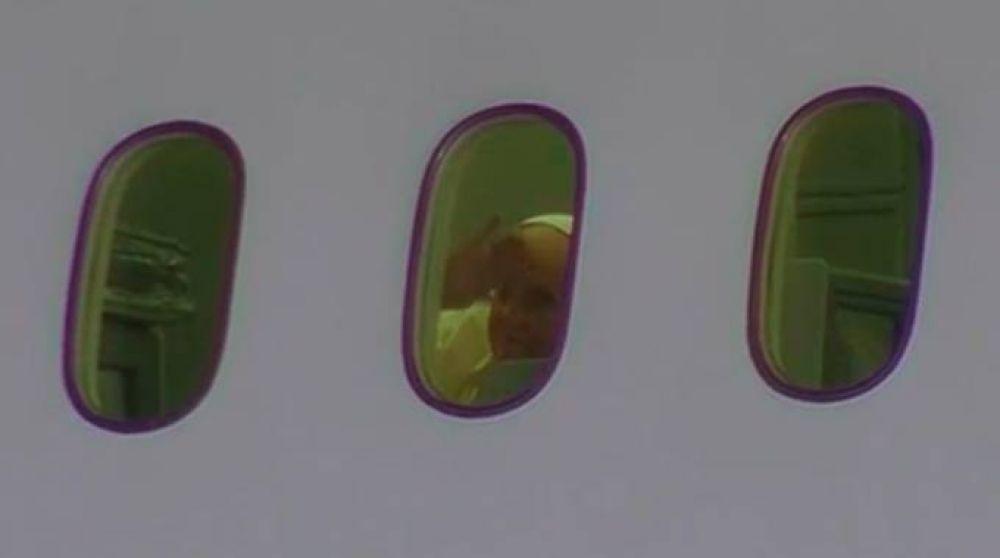 Papa Francisco concluye su histórica visita a México y vuelve a Roma