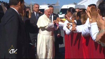 """Papa Francisco: """"Cuando entro en una cárcel me pregunto por qué ellos y no yo"""