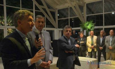 Legisladores correntinos con el Presidente
