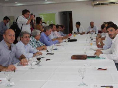 Molina participó de un foro de intendentes del PRO