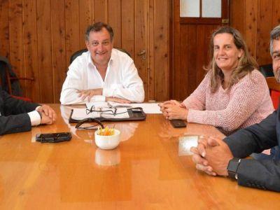 Gennuso recibió al secretario nacional de la SEDRONAR